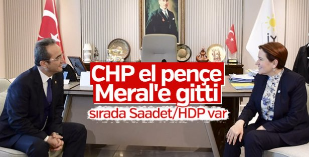 CHP heyeti İYİ Parti'yi ziyaret etti