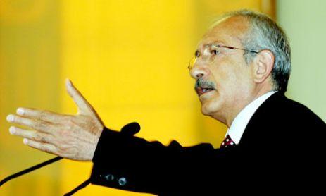 CHP liderinden terörü bitirme formülü!