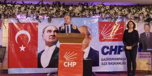 """CHPli Ali Yıldırım: Gaziosmanpaşada değişim başlamalı"""""""