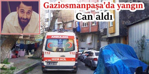Çok acı olay! Gaziosmanpaşa'da devrilen elektrikli ısıtıcıdan çıkan yangın can aldı