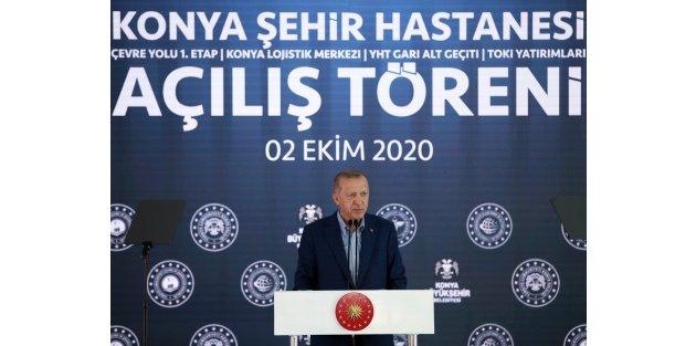 Cumhurbaşkanı Erdoğan: Akdeniz'de oyun oynamak istediler