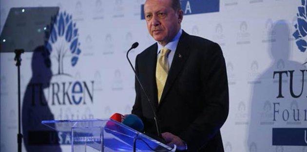Cumhurbaşkanı Erdoğan: Amerikalı dostlarımız FETÖ'nün gerçek yüzünü hala anlamadılar