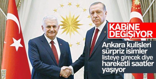 Cumhurbaşkanı Erdoğan - Başbakan Yıldırım görüşmesi başladı