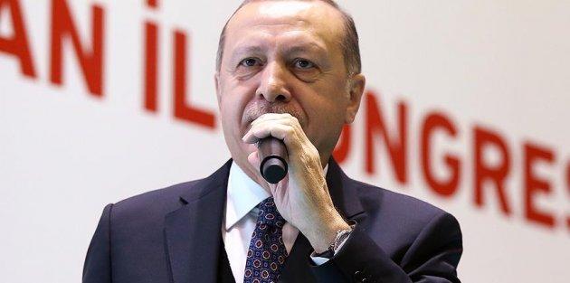 Cumhurbaşkanı Erdoğan: Bizimle ortak bir geleceğe yürümek isteyenlere ellerimiz daima açık