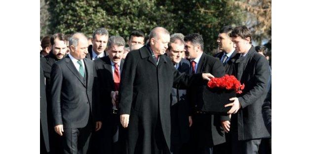 Cumhurbaşkanı Erdoğan, cemaate dua yaptırdı!