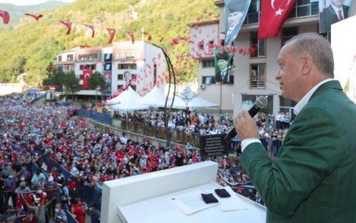 Cumhurbaşkanı Erdoğan Giresun'da Müjdeyi Verdi!