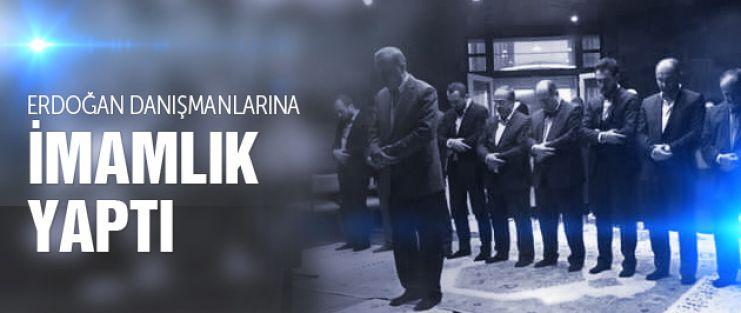 Cumhurbaşkanı Erdoğan imamlık yaptı namaz kıldırdı