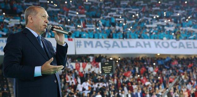 Cumhurbaşkanı Erdoğan: Milletin huzuruna kastedenlere buraları zindan ederiz