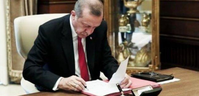 Cumhurbaşkanı Erdoğan onayladı