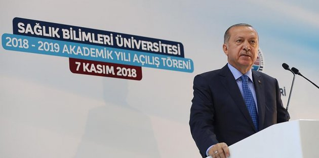 Cumhurbaşkanı Erdoğan: Sağlık bizim en güzel neticeleri aldığımız alanların başında