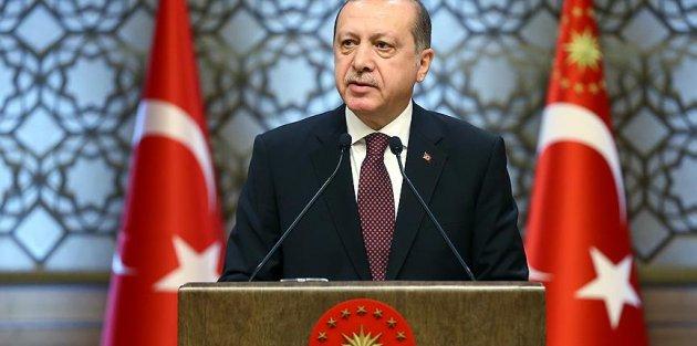 Cumhurbaşkanı Erdoğan: Sanat, sanatçılarımızın fedakar çalışmalarıyla yükselecek