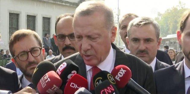 Cumhurbaşkanı Erdoğan: Şu andan itibaren 120 saatlik süreç işliyor