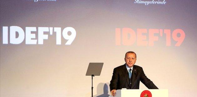 Cumhurbaşkanı Erdoğan: Türkiye'nin dışlandığı bir F-35 projesi çökmeye mahkum