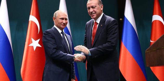 Cumhurbaşkanı Erdoğan'dan Putin'e 'teşekkür telefonu'