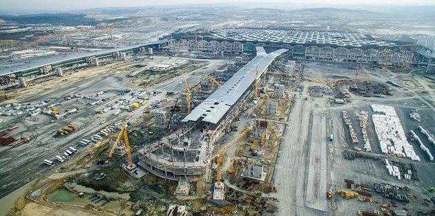 Cumhurbaşkanı yeni havalimanının ilk resmi konuğu olacak