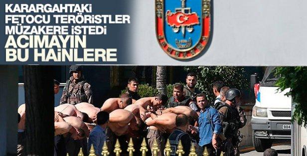 Darbeci askerler müzakere talebinde bulundu