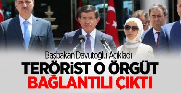 Davutoğlu: Terörist DAEŞ Bağlantılı