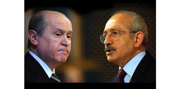Davutoğlu'ndan Kılıçdaroğlu ve Bahçeli'ye operasyonlarla ilgili telefon