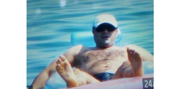 Demirtaş'ın tatil fotoğrafı internete düştü