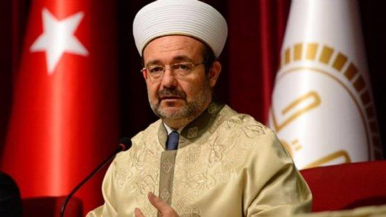 Diyanet İşleri Başkanı Mehmet Görmez görevi bırakarak emekliye ayrıldı