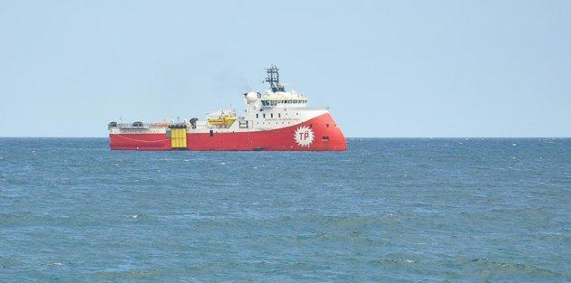 Doğu Akdeniz'de Türk gemisine tacize engelleme