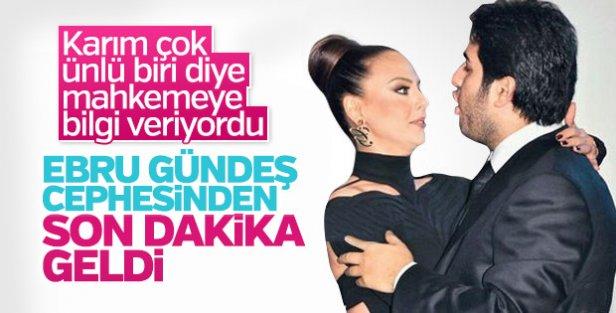 Ebru Gündeş Reza Zarrab'dan boşanmıyor