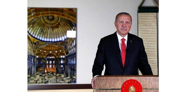 Erdoğan: Ayasofya 24 Temmuz'da ibadete açılacak!