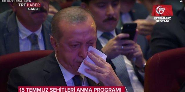 Erdoğan da ağladı! Herkesi darma duman eden anlar