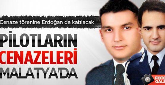 Erdoğan, şehit pilotlar için Malatya'ya gidiyor