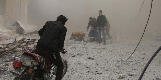 Esed rejimi Doğu Guta'da sivillere saldırdı: 75 ölü
