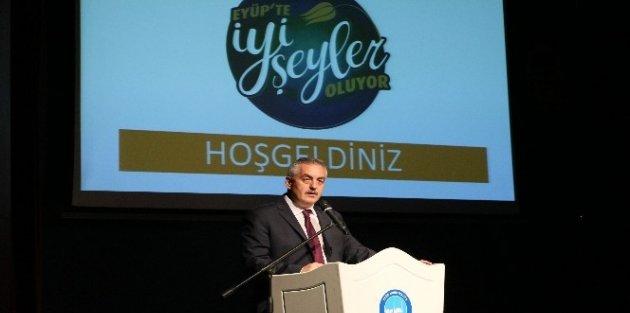 Eyüp Belediyesi, 3 yıllık hizmet lansmanı gerçekleştirdi