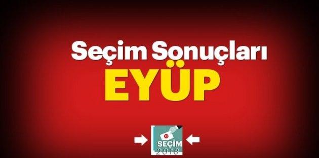 Eyüp Sultan  seçim sonuçları ve oy oranları!