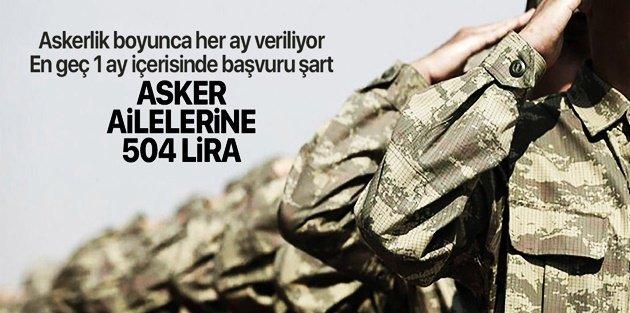 Eyüpsultan Belediyesinden asker ailelerine destek