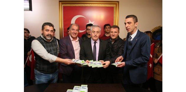 Eyüpsultan'dan Afrin'deki Mehmetçiğe tam destek