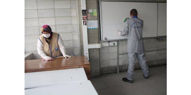 Eyüp'te Okullar ikinci döneme hazırlanıyor