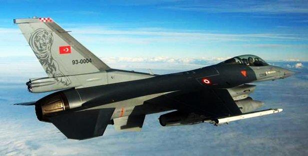 F-16lar Suriye sınırına gönderildi