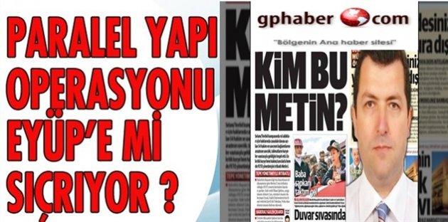 FETÖ kuryesi eski Eyüp Belediye Başkan Yardımcısı Metin İşeri'nin yeni icraatı ortaya çıktı