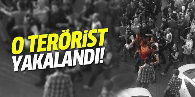 Gazi Mahallesindeki polisi şehit eden terörist yakalandı