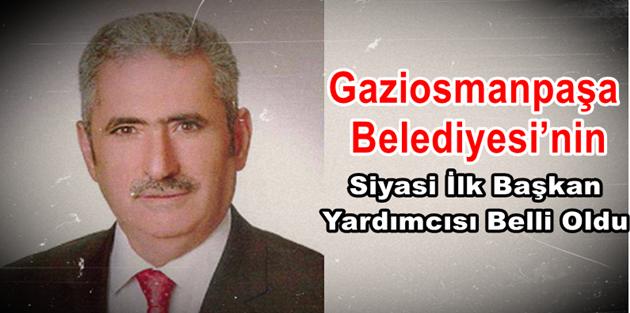 Gaziosmanpaşa Belediye Başkan yardımcısı belli oldu!