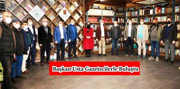 Gaziosmanpaşa Belediye Başkanı Usta Gazeteciler İle Bir Araya Geldi!