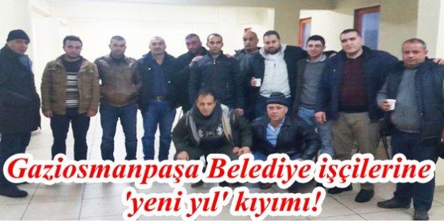 Gaziosmanpaşa Belediye işçilerine 'yeni yıl' kıyımı!
