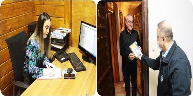 Gaziosmanpaşa Belediyesi, kitap müdavimlerinin taleplerini evlerine ulaştırdı