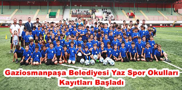 Gaziosmanpaşa Belediyesi Yaz Spor Okulları Kayıtları Başladı