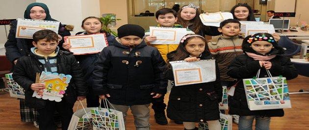 Gaziosmanpaşa Belediyesinden Başarılı Öğrencilere Karne Hediyesi