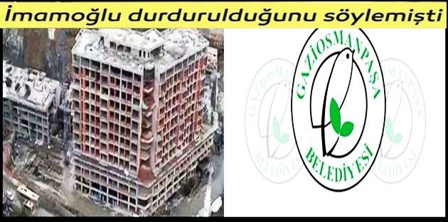 Gaziosmanpaşa Belediyesinden Başkan İmamoğlu'na yalanlama