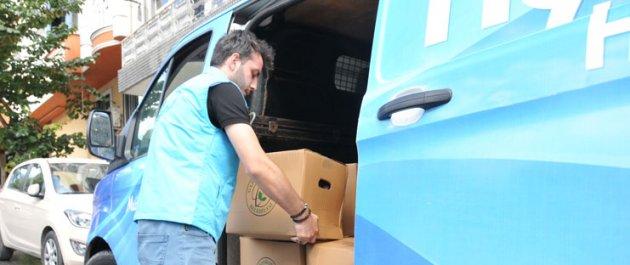 Gaziosmanpaşa Belediyesi'nden İhtiyaç Sahiplerine Erzak Yardımı