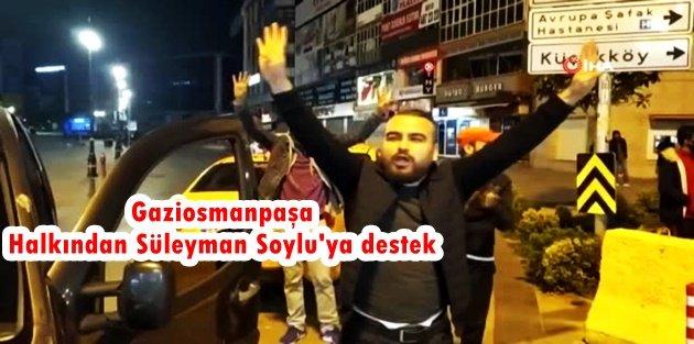 Gaziosmanpaşa Halkından Süleyman Soylu'ya destek