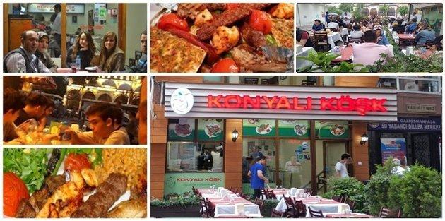 Gaziosmanpaşa 'Konyalı Köşkte' eşsiz Ramazan lezzetleri
