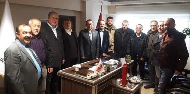 Gaziosmanpaşa Kulüpler Birliği,CHP İlçe Başkanlığını Ziyaret etti!