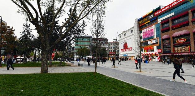 Gaziosmanpaşa Meydan Düzenleme Çalışmalarında Sona Yaklaşıldı